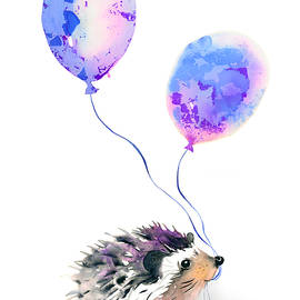 Party hedgehog - Kristina Broza