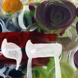 Passages 2- Abstract art by Linda Woods - Linda Woods