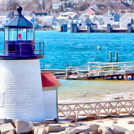 Jeff Folger - Passing Brandt Point lighthouse
