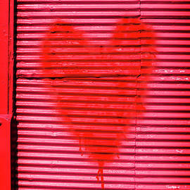 Passionate red heart for a Valentine love - Jorgo Photography - Wall Art Gallery