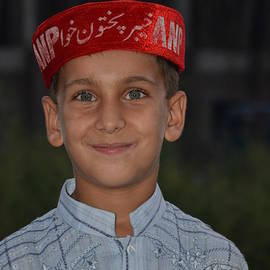 Imran Ahmed - Pathan boy at political rally in Swat Valley Pakistan