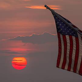 Mark Papke - Patriotic Sunset