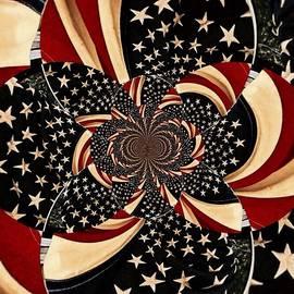 Beverly Canterbury - Patriotic Swirl