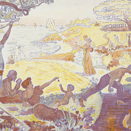 Paul Signac - In the Time of Harmony - The Joy of Life - Sunday by the Sea - Paul Signac