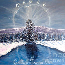 Kimberlee Baxter - Peace and Goodwill Toward Men with Quote