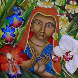 Mary jane Miller - Peace and Orchids