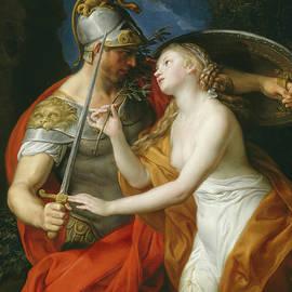 Peace and War - Pompeo Girolamo Batoni