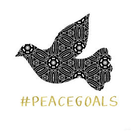 Peace Goals- Art by Linda Woods - Linda Woods