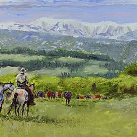 Stephen David Rathburn - Peaceful Herd