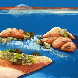 Ted Hess - Peaceful Lagoon