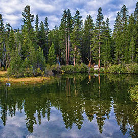 Lynn Bauer - Peaceful Reflections at Lake Mamie