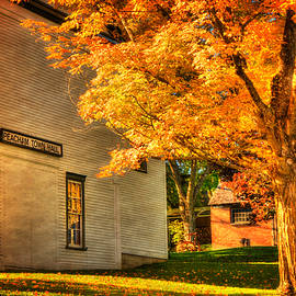 Joann Vitali - Peacham Town Hall - Vermont in Autumn