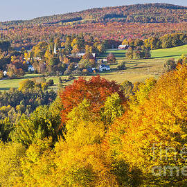 Alan L Graham - Peacham Vermont Autumn