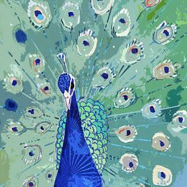 Arline Wagner - Peacock In Bloom