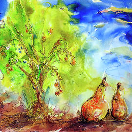 Shirley Sykes Bracken - Pear Tree and Two