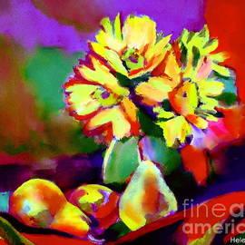 Helena Wierzbicki - Pears and flowers