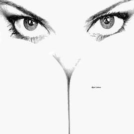 Rafael Salazar - Peek a Boo Female Sketch
