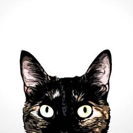 Nicklas Gustafsson - Peeking Cat