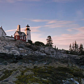 Juergen Roth - Pemaquid Point Light Panorama