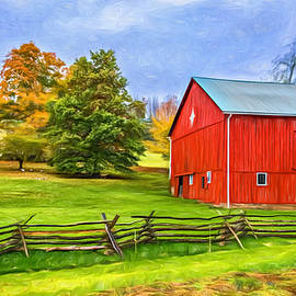 Steve Harrington - Pennsylvania Barn - Paint