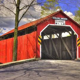 Michael Mazaika - Pennsylvania Country Roads - Enslow Covered Bridge Over Sherman Creek No. 1B-Alt - Perry County