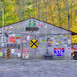 Michael Mazaika - Pennsylvania Country Roads - The Garage - Washington County