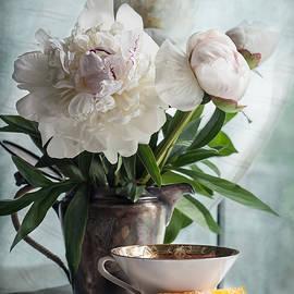 Maggie Terlecki - Peonies Tea and Oranges