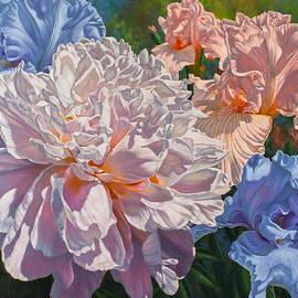 Fiona Craig - Peony and Irises