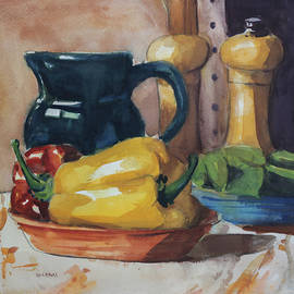 Peppers and Jug - John Holdway