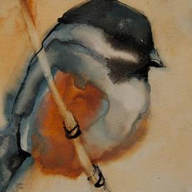 Jani Freimann - Perched Chickadee 1