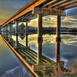 Reid Callaway - Perfect Reflection Bridges of Georgia
