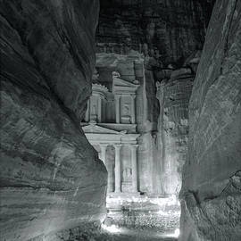 Stephen Stookey - Petra Siq Night