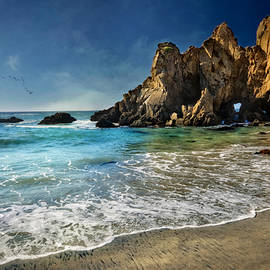 Jennifer Rondinelli Reilly - Fine Art Photography - Pheiffer Beach #9- Big Sur California