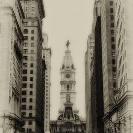 Bill Cannon - Philadelphia City Hall From South Broad Street