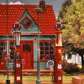 L Wright - Phillips 66 Gas Station