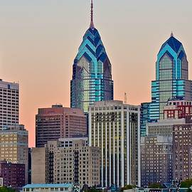 Frozen in Time Fine Art Photography - Philly at Sunset
