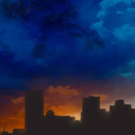 Marlene Watson - Phoenix Arizona Night Sky