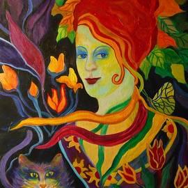 Carolyn LeGrand - Picking Flowers