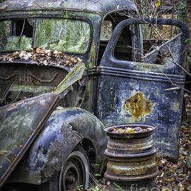 Old Blue Pickup Truck