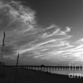 Christiane Schulze Art And Photography - Pier Under A Sunset