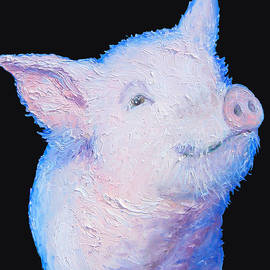 Jan Matson - Pig Painting for the kitchen