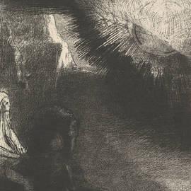 Pilgrim from a Sublunar World - Odilon Redon