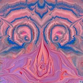 Lori Kingston - Pink and Blue Owl