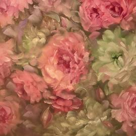 Melissa Herrin - Pink and White Rose Bouquet