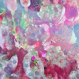 Catherine Lott - Pink Florals On Paper In The Mix