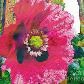 Catherine Lott - Pink Flower On Paper In The Mix