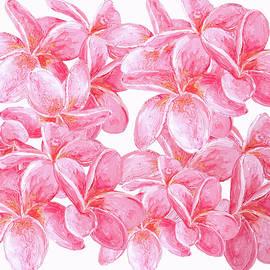 Jan Matson - Pink Frangipani flowers