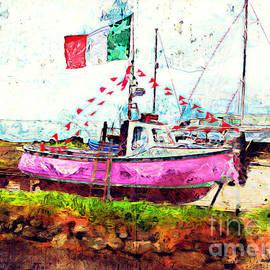 Claire Bull - Pink Irish Boat