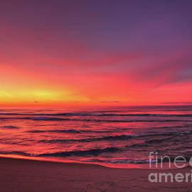Jeff Breiman - Pink LBI Sunrise