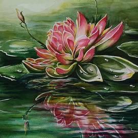 Svetlana Matevosjan Art - Pink lotus flower